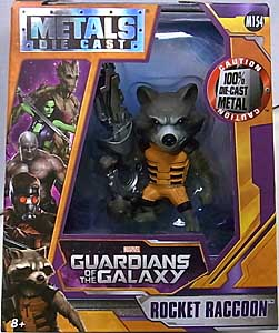 JADA TOYS 映画版 GUARDIANS OF THE GALAXY METALS DIE CAST 4インチフィギュア ROCKET RACCOON