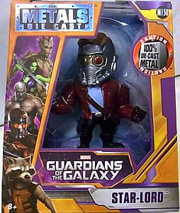 JADA TOYS 映画版 GUARDIANS OF THE GALAXY METALS DIE CAST 4インチフィギュア STAR-LORD