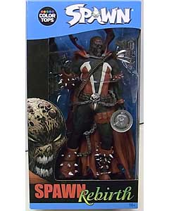 McFARLANE SPAWN COLOR TOPS: BLUE WAVE 7インチアクションフィギュア SPAWN REBIRTH [USA TOYSRUS限定]