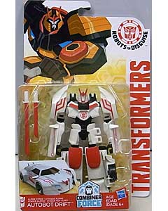 HASBRO アニメ版 TRANSFORMERS ROBOTS IN DISGUISE COMBINER FORCE WARRIOR CLASS ALPINE STRIKE AUTOBOT DRIFT
