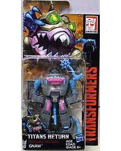 HASBRO TRANSFORMERS GENERATIONS TITANS RETURN LEGENDS CLASS GNAW 台紙傷み特価