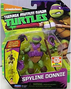 PLAYMATES NICKELODEON TEENAGE MUTANT NINJA TURTLES ベーシックフィギュア 2016 SPYLINE DONNIE