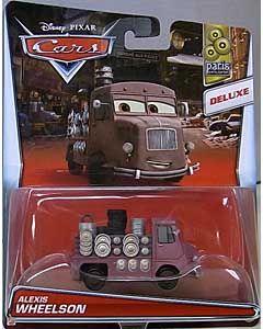 MATTEL CARS 2016 DELUXE ALEXIS WHEELSON 台紙傷み特価
