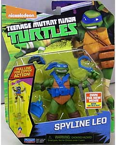 PLAYMATES NICKELODEON TEENAGE MUTANT NINJA TURTLES ベーシックフィギュア 2016 SPYLINE LEO 台紙傷み特価