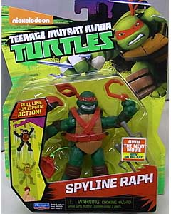 PLAYMATES NICKELODEON TEENAGE MUTANT NINJA TURTLES ベーシックフィギュア 2016 SPYLINE RAPH