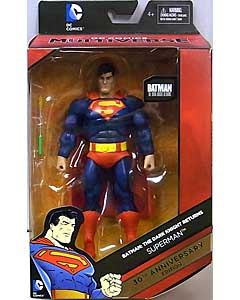 MATTEL DC COMICS MULTIVERSE 6インチアクションフィギュア BATMAN: THE DARK KNIGHT RETURNS 30TH ANNIVERSARY EDITION SUPERMAN パッケージワレ特価