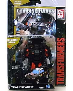HASBRO TRANSFORMERS GENERATIONS 2016 [COMBINER WARS] DELUXE CLASS TRAILBREAKER [COMIC BOOK INCLUDED] ブリスター傷み特価