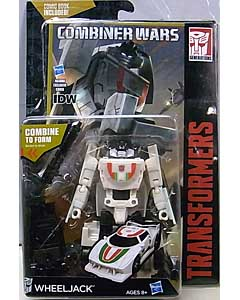 HASBRO TRANSFORMERS GENERATIONS 2016 [COMBINER WARS] DELUXE CLASS WHEELJACK [COMIC BOOK INCLUDED]