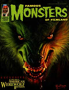 FAMOUS MONSTERS OF FILMLAND #284