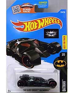 MATTEL HOT WHEELS 1/64スケール 2016 BATMAN THE DARK KNIGHT TRILOGY THE DARK KNIGHT BATMOBILE #228