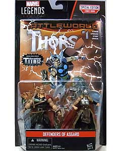 HASBRO MARVEL LEGENDS SERIES 2016 3.75インチアクションフィギュア COMIC PACK DEFENDERS OF ASGARD