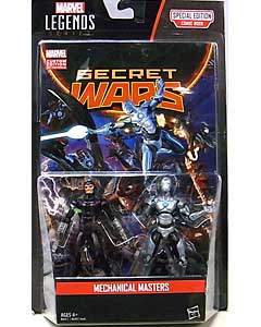 HASBRO MARVEL LEGENDS SERIES 2016 3.75インチアクションフィギュア COMIC PACK MECHANICAL MASTERS 台紙傷み特価