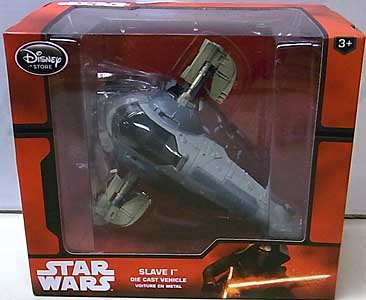 STAR WARS USAディズニーストア限定 DIE CAST VEHICLE SLAVE I [NEW PACKAGE]