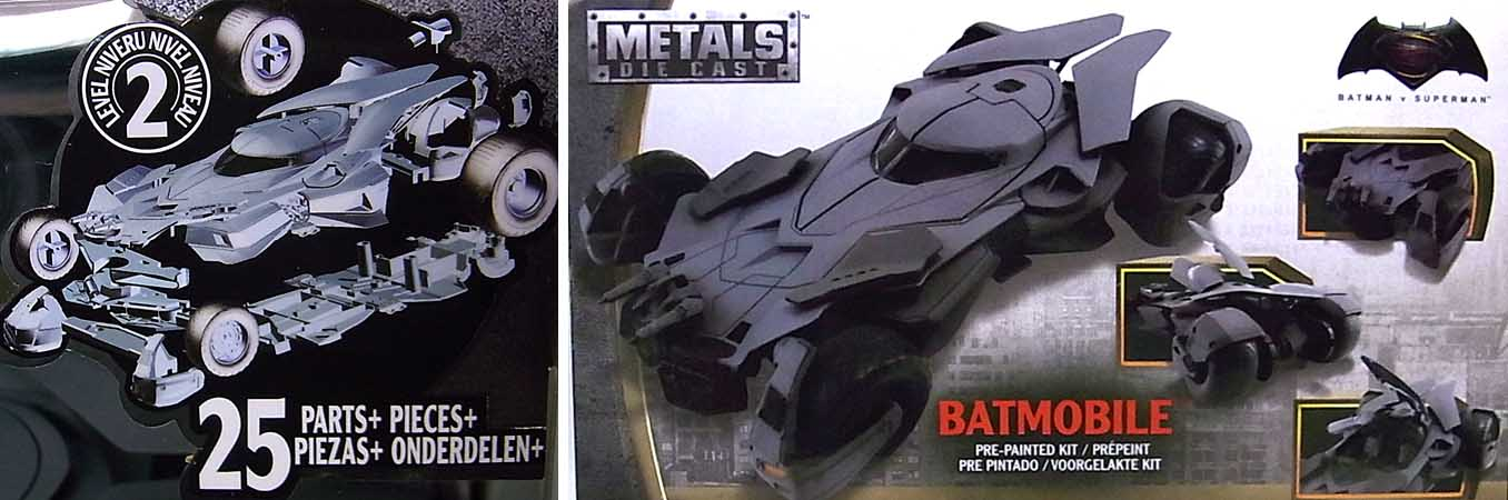 JADA TOYS METALS DIE CAST 1/24スケール BATMAN V SUPERMAN: DAWN OF JUSTICE BATMOBILE [ツヤ有り]