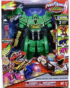 USA BANDAI POWER RANGERS DINO SUPER CHARGE LIMITED EDITION DINO CHARGE MEGAZORD パッケージ傷み特価