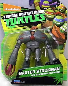PLAYMATES NICKELODEON TEENAGE MUTANT NINJA TURTLES ベーシックフィギュア 2015 BAXTER STOCKMAN 台紙傷み特価