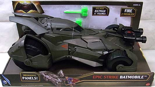 MATTEL BATMAN V SUPERMAN: DAWN OF JUSTICE EPIC STRIKE BATMOBILE