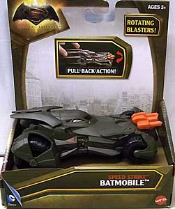 MATTEL BATMAN V SUPERMAN: DAWN OF JUSTICE SPEED STRIKE BATMOBILE [PULL BACK ACTION]