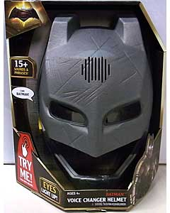 MATTEL BATMAN V SUPERMAN: DAWN OF JUSTICE BATMAN VOICE CHANGER HELMET