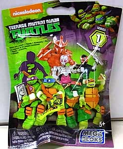 MEGA BLOKS NICKELODEON TEENAGE MUTANT NINJA TURTLES SERIES 1 1PACK