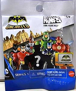 MATTEL MIGHTY MINIS BATMAN UNLIMITED SERIES 1 1PACK