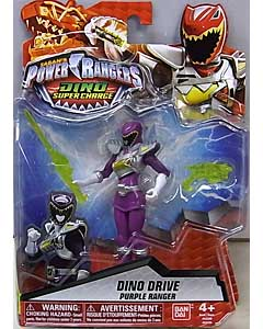 USA BANDAI POWER RANGERS DINO SUPER CHARGE 5インチアクションフィギュア DINO DRIVE PURPLE RANGER