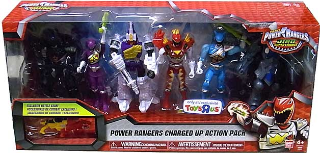 USA BANDAI POWER RANGERS DINO SUPER CHARGE 5インチアクションフィギュア POWER RANGERS CHARGED UP ACTION PACK