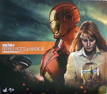 HOT TOYS MOVIE MASTERPIECE 1/6スケール 映画版IRON MAN 3 PEPPER POTTS & MARK IX
