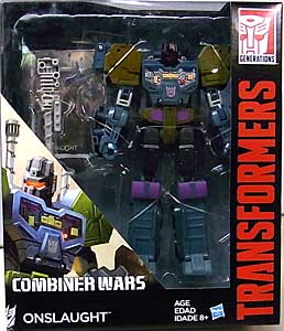 HASBRO TRANSFORMERS GENERATIONS 2015 [COMBINER WARS] VOYAGER CLASS ONSLAUGHT