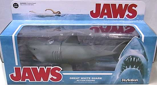 FUNKO x SUPER 7 REACTION FIGURES 3.75インチアクションフィギュア JAWS GREAT WHITE SHARK