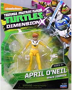 PLAYMATES NICKELODEON TEENAGE MUTANT NINJA TURTLES ベーシックフィギュア 2016 DIMENSION X APRIL O'NEIL