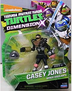 PLAYMATES NICKELODEON TEENAGE MUTANT NINJA TURTLES ベーシックフィギュア 2016 DIMENSION X CASEY JONES