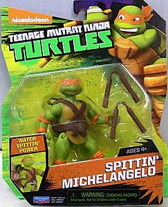 PLAYMATES NICKELODEON TEENAGE MUTANT NINJA TURTLES ベーシックフィギュア 2016 SPITTIN' MICHELANGELO