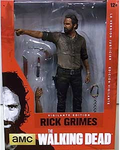 McFARLANE TOYS THE WALKING DEAD TV DELUXE 10インチアクションフィギュア RICK GRIMES [VIGILANTE EDITION]
