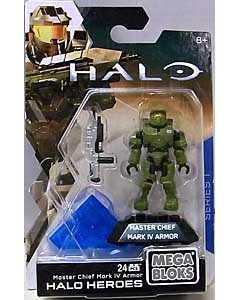 MEGA BLOKS HALO HEROES SERIES 1 MASTER CHIEF MARK IV ARMOR