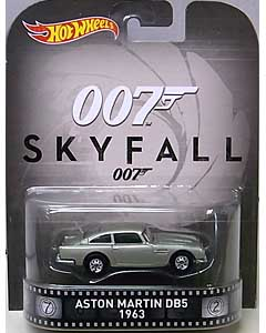 MATTEL HOT WHEELS 1/64スケール 2016 RETRO ENTERTAINMENT JAMES BOND 007 SKYFALL 1963 ASTON MARTIN DB5