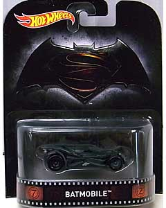 MATTEL HOT WHEELS 1/64スケール 2016 RETRO ENTERTAINMENT BATMAN V SUPERMAN: DAWN OF JUSTICE BATMOBILE