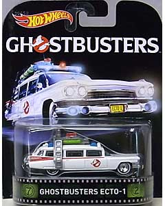MATTEL HOT WHEELS 1/64スケール 2016 RETRO ENTERTAINMENT GHOSTBUSTERS ECTO-1