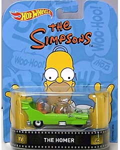 MATTEL HOT WHEELS 1/64スケール 2016 RETRO ENTERTAINMENT THE SIMPSONS THE HOMER