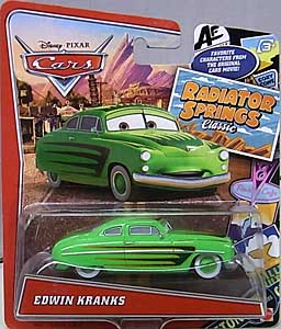 MATTEL CARS USA TOYSRUS限定 RADIATOR SPRINGS CLASSIC シングル EDWIN KRANKS
