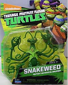 PLAYMATES NICKELODEON TEENAGE MUTANT NINJA TURTLES ベーシックフィギュア 2015 SNAKEWEED