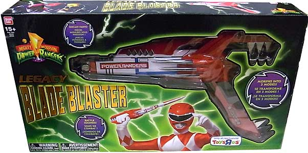 USA BANDAI POWER RANGERS MIGHTY MORPHIN LEGACY BLADE BLASTER