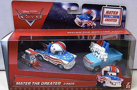 MATTEL CARS 2016 CARS TOON 3PACK MATER THE GREATER