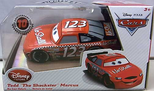 CARS 2016 USAディズニーストア限定 ダイキャストミニカー TODD THE SHOCKSTER MARCUS