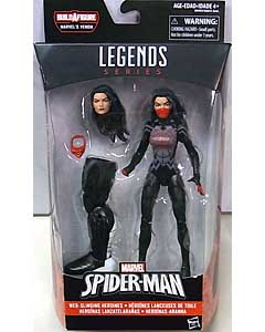 HASBRO MARVEL LEGENDS 2016 SPIDER-MAN SERIES 4.0 SILK [SPACE VENOM SERIES]