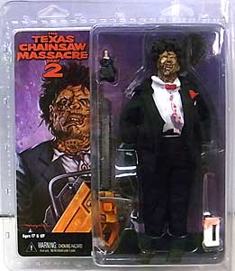 NECA THE TEXAS CHAINSAW MASSACRE PART 2 8インチドール LEATHERFACE