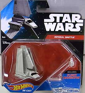 MATTEL HOT WHEELS STAR WARS DIE-CAST VEHICLE IMPERIAL SHUTTLE