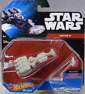 MATTEL HOT WHEELS STAR WARS DIE-CAST VEHICLE TANTIVE IV