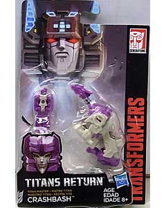 HASBRO TRANSFORMERS GENERATIONS TITANS RETURN TITAN MASTER CRASHBASH