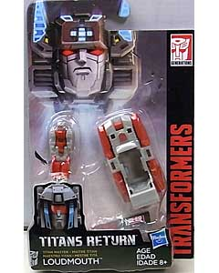 HASBRO TRANSFORMERS GENERATIONS TITANS RETURN TITAN MASTER LOUDMOUTH